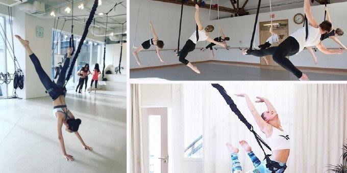 美國最新【豪華組合】Bungee Fly 2D 空中瑜珈 彈力繩帶 魔力繩帶 蹦極繩帶 極限 輕功 普拉提 空中重訓