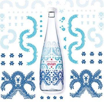 2017 evian x Christian Lacroix 限量紀念湛藍瓶
