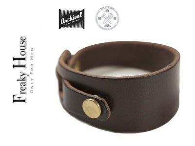 *~Freaky House~* 美國品牌BillyKirk高級手工製抽象手環-深咖啡/咖啡(男女都可)