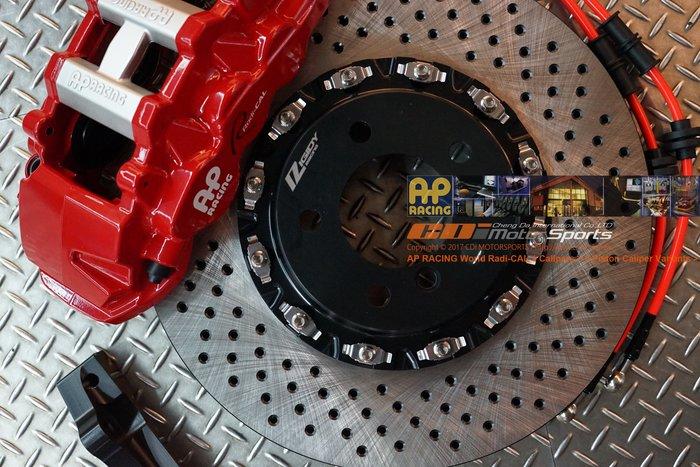 AP Radi-CAL CP-8521 六活塞卡鉗組 355~410mm RIGIDY專用全浮動 打洞碟盤 / 制動改