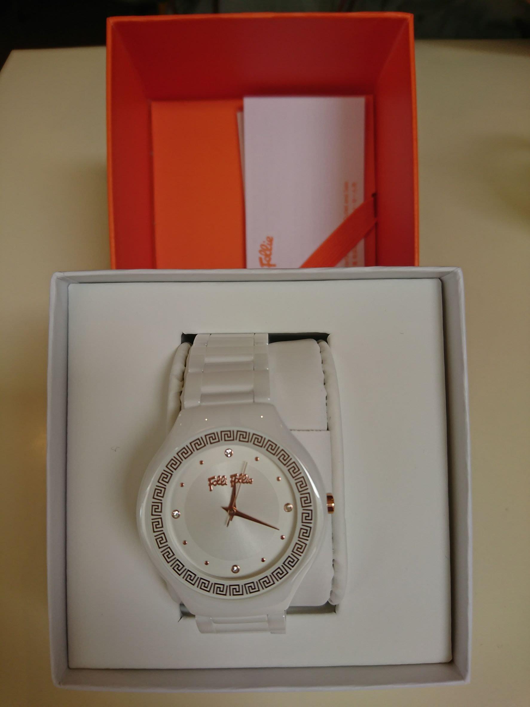 Folli Follie 陶瓷腕錶 專櫃正品 全新品  芙麗芙麗