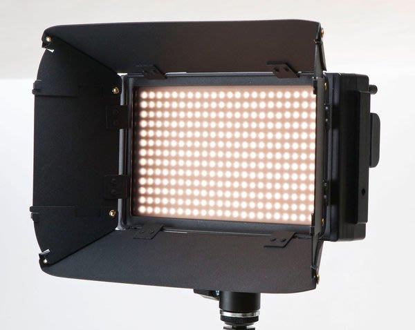 呈現攝影-Lishuai(LS) LED 312D LED燈 312顆 附色溫片/遮光罩 LCD營幕 雙電池 攝影燈 活動婚禮記錄