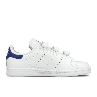 玉米潮流本舖 ADIDAS STAN SMITH S80042 白藍 魔鬼氈 復古網球鞋 史密斯