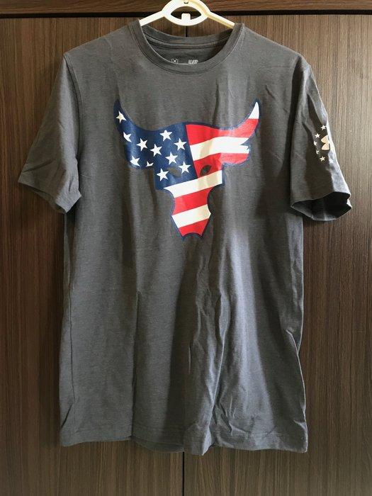 現貨 UA Project Rock 巨石強森 The Troops T-Shirt