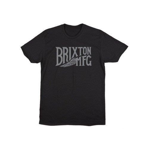 《Nightmare 》Brixton Coventry Tee - Black 短TEE 滑板 品牌