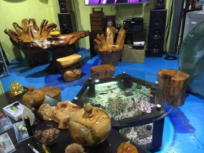 實木泡茶桌 80000元 (造型茶盤)實木泡茶椅 現貨40個歡迎現場選購 一個8000元 保證實木