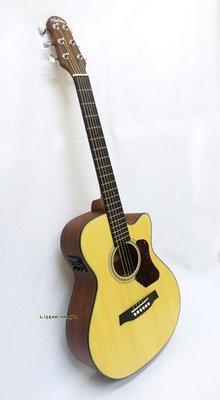 立昇樂器 Walden T550CE 雲杉木 面單板 36吋 旅行吉他 電木吉他 民謠吉他 木吉他 附原廠琴袋 公司貨