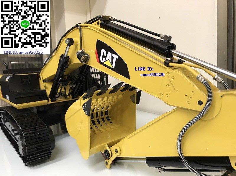 1/8 336D2 CNC 遙控 液壓 挖土機 怪手  搖控 油壓 CAT 全金屬 Bruder 全配