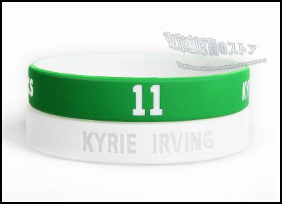 NBA 塞爾蒂克隊 11號 厄文 手腕帶 手環帶 手環 商品 ~ NIKE Kyrie Irving 3 球鞋 絕配