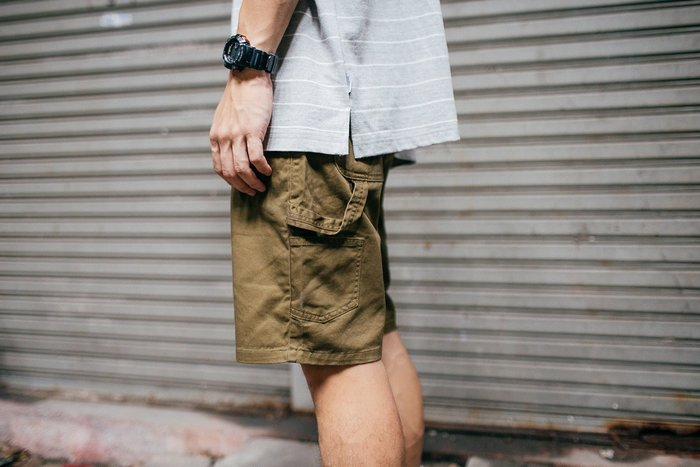 [NMR] NEXTMOBRIOT 短褲 17 S/S Painter Work Shorts