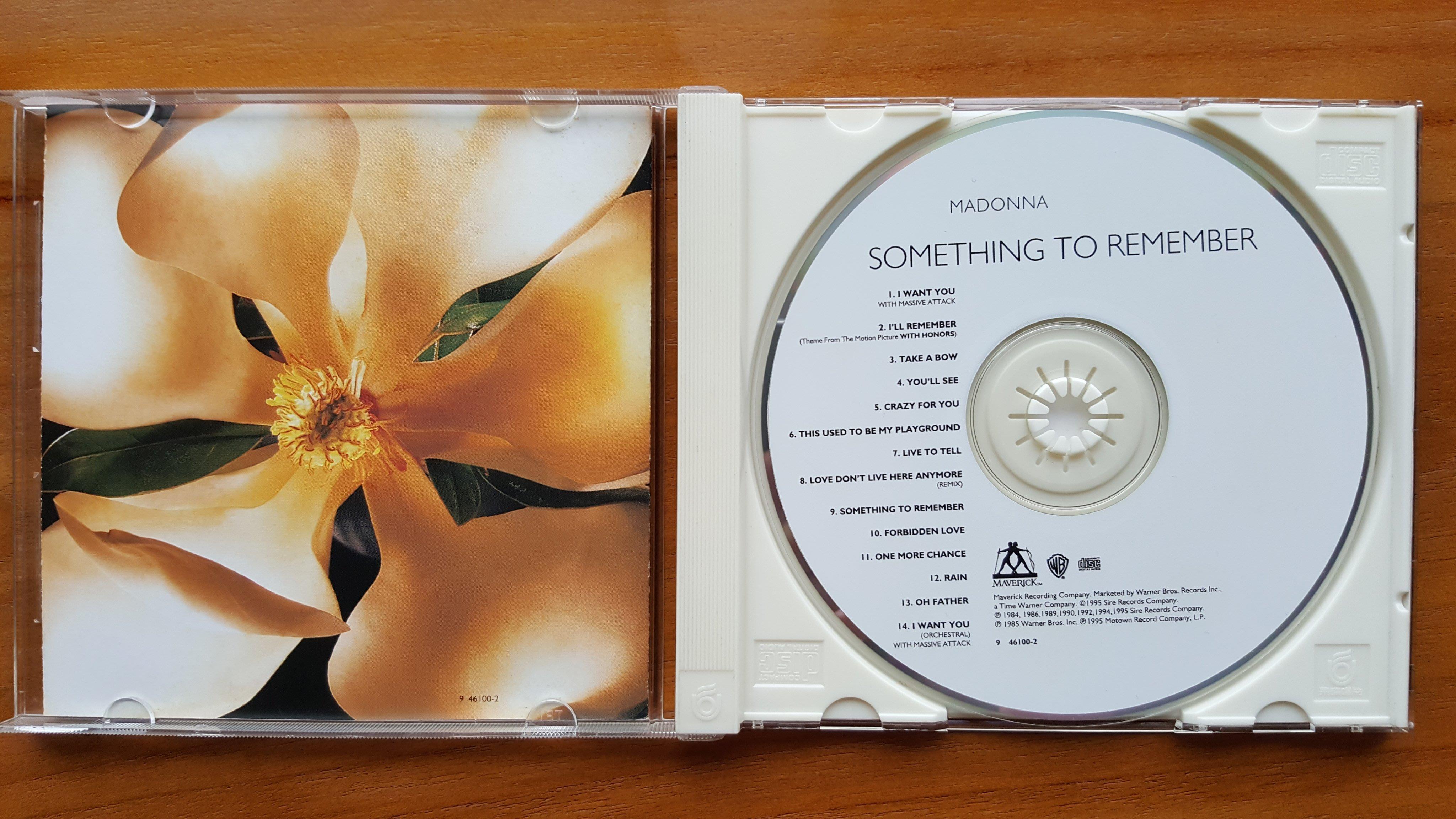 Madonna瑪丹娜 【Something To Remember】CD