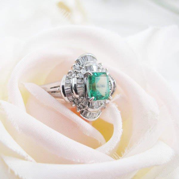 【JHT金宏總珠寶/GIA鑽石專賣】天然祖母綠鑽戒 (JB22-BR42) *