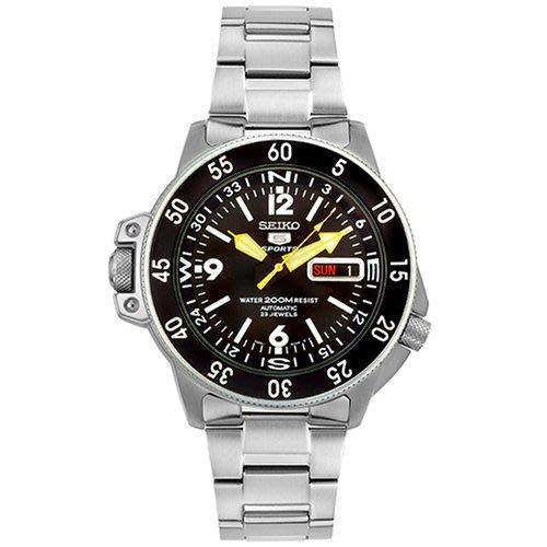 【金台鐘錶】SEIKO 精工錶 SPORTS 雙龍頭 防水200米  潛水機械腕錶  SKZ211K1