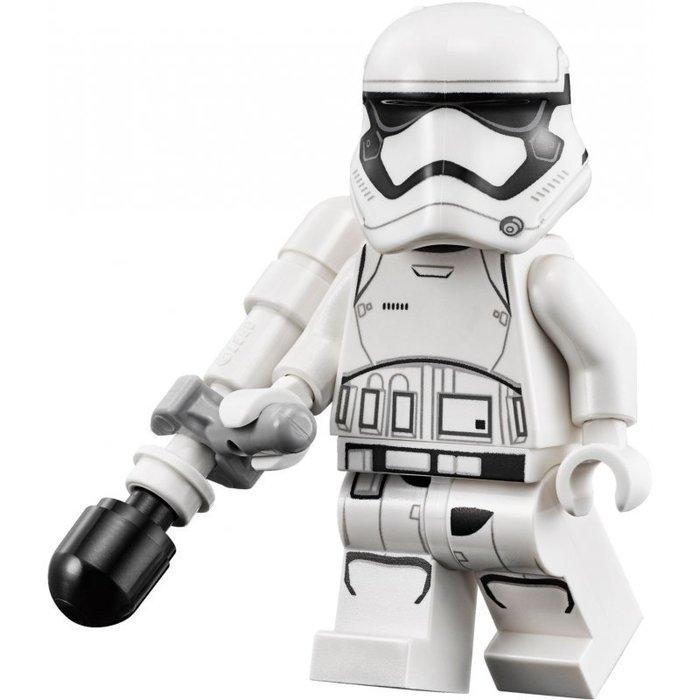 【LEGO 樂高】全新正品 益智玩具 積木/ Star Wars 星際大戰 75139   單一人偶: 白兵+黑槍+大砲
