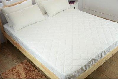 【嫁妝寢具】保潔墊 超級防護包覆式保潔墊(雙人5x6.2尺) 保護床墊,延長床墊使用壽命,台灣製造/另有加大