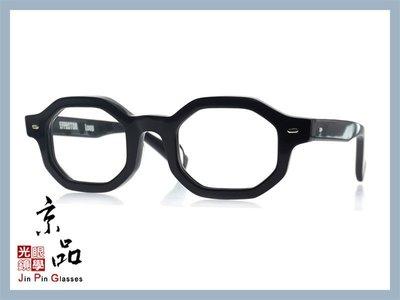 京品眼鏡 EFFECTOR 伊菲特 Loop BK 黑色 日本手工眼鏡 JPG