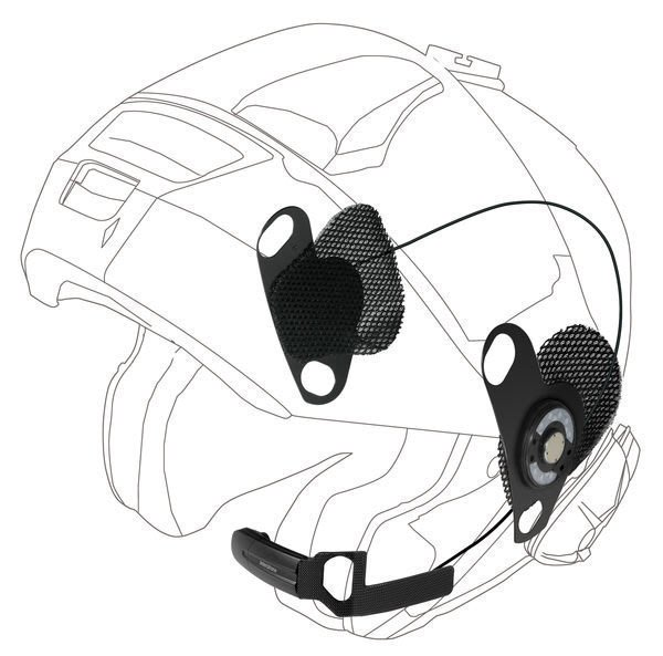 Shoei 專用耳麥 for Neotec, J-Cruise, GT-Air (散裝, 不適用TOUR/URBAN)