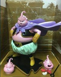 【紫色風鈴3.3】七龍珠海外限定版SC造型換頭胖魔人佈歐電鍍色 港版