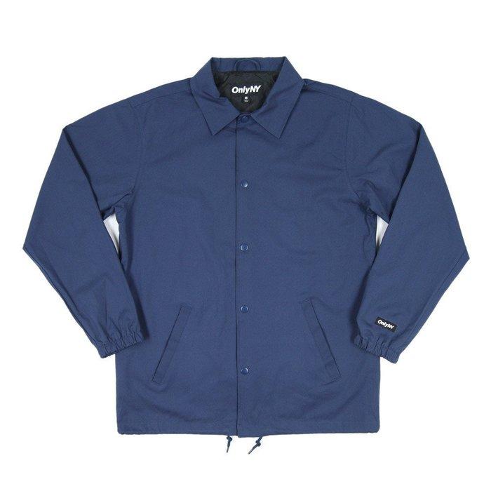 《Nightmare 》ONLY NY Cotton Coach Jacket - Marine Blue