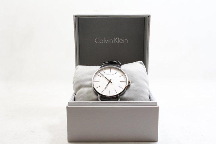 【高雄青蘋果3C】CK Calvin Klein EVEN系列(K7B211C6)岩紋時尚腕錶/白面42mm#18440