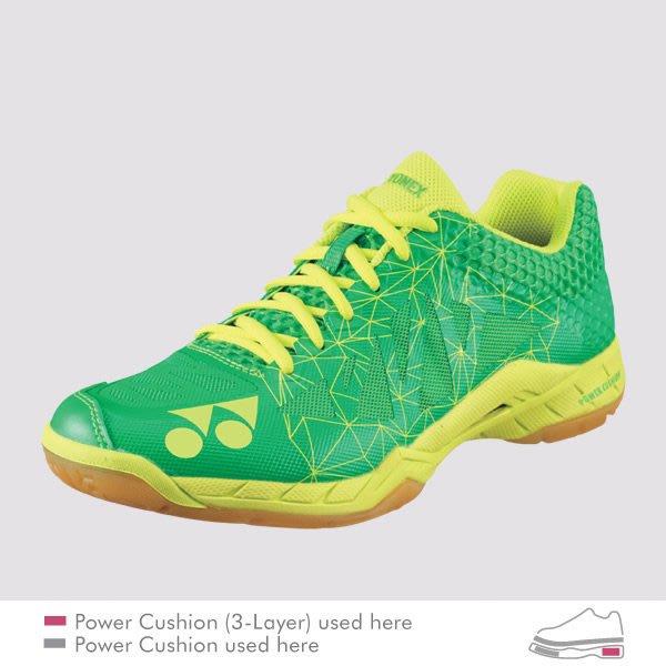 [健康羽球館] YONEX(YY) 頂級羽球鞋 SHB AM2 (綠) (買球拍先試打 來店參觀可議價)