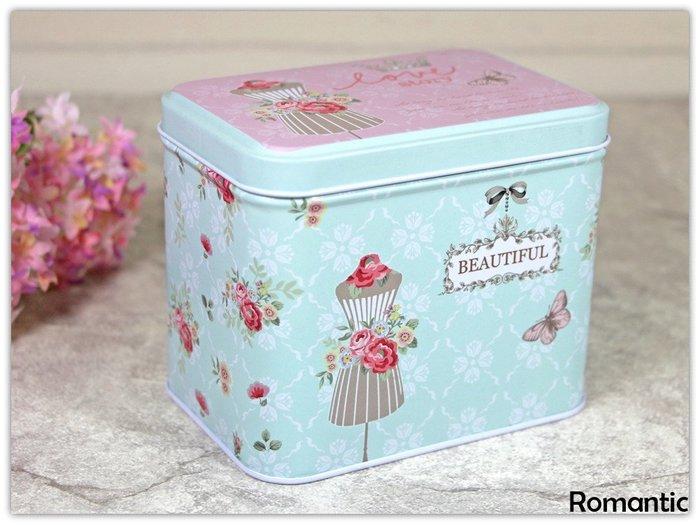 浪漫派飾品 P91 花之霓賞 收納盒 鐵盒 包裝