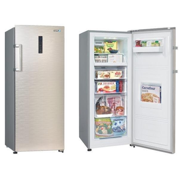 高雄 【樂活家電館】含運14200 【SAMPO聲寶210公升自動除霜直立式冷凍櫃SRF-210F】另有SRF-390F