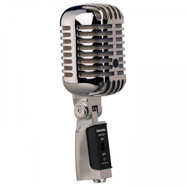 【六絃樂器】全新 Superlux PRO H7F 復古超心形動圈式麥克風 / 舞台音響系統 專業PA器材