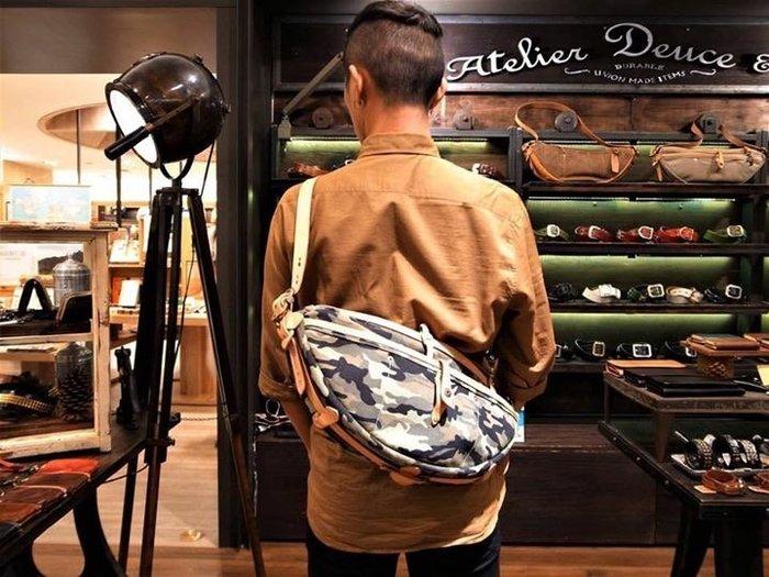 DEUCE&CO ATHENA saddle bag 迷彩限定版