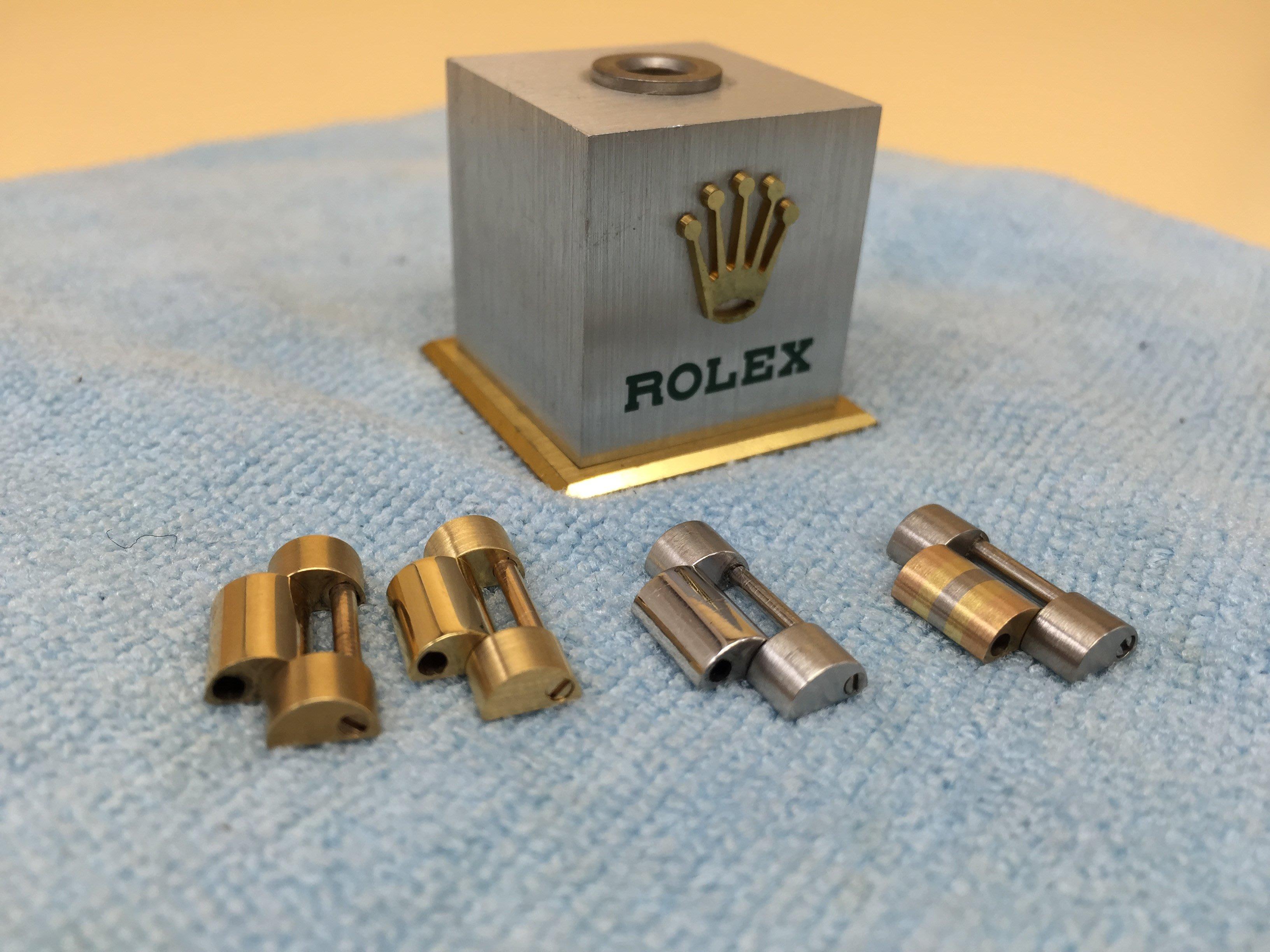 Rolex 1803.18038.18238.18039.18239.18206原廠18KG.WG.PT總統帶錶節,錶目