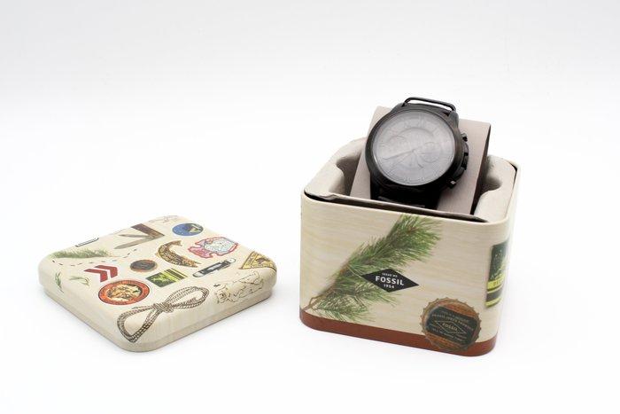【高雄青蘋果3C】FOSSIL Grant 紳士計時限量精裝套錶 FS5147SET #25932