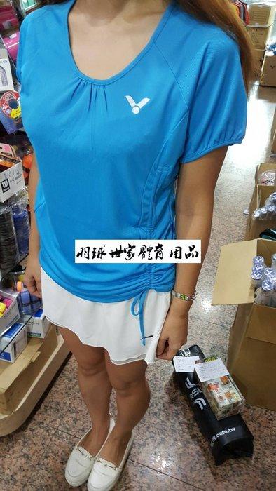 ◇ 羽球世家◇【零碼出清】勝利夏季輕薄款 氣質美女 T恤  可自行調整腰部曲線 (熱賣商品) 特價490 親子母女裝