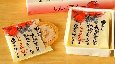 日本 信州特產乙女蘋果煎餅薄片 仙貝餅...