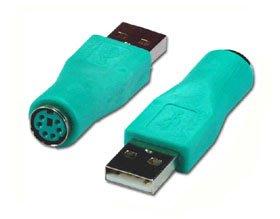 【電腦天堂】USB A公6母轉接頭 廠牌:KTNET USB(公)轉PS/2(母)