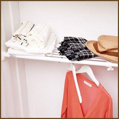 浴室/廚房/臥室【家具先生】BR10 左右伸縮多功能強力置物架/收納架/衣物收納