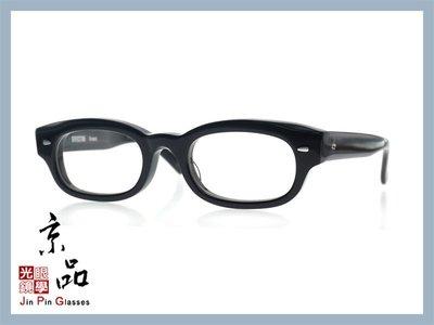 京品眼鏡 EFFECTOR 伊菲特 Crunch BK 亮黑色 日本手工眼鏡 光學眼鏡 JPG