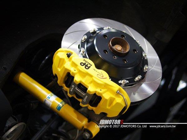 JD-MOTORS捷都車業 AP85系列 前六後四 客製法拉利黃色 390mm+380碟盤組 BMW X6