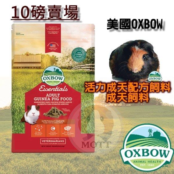 美國 Oxbow 活力天竺鼠成天飼料 天竺鼠飼料 成天飼料 10LB 10磅 (另有5磅成天飼料)