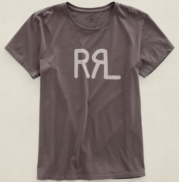 REISEN:US.Ralph Lauren 頂級復古線 Double RL RRL 雙R LOGO 短袖T-SHIRT.真品附購買證明