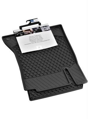 賓士原廠MERCEDES BENZ 新A系列 W176橡膠腳踏墊+托盤行李箱墊 防水.防汙A180A250A45AMG