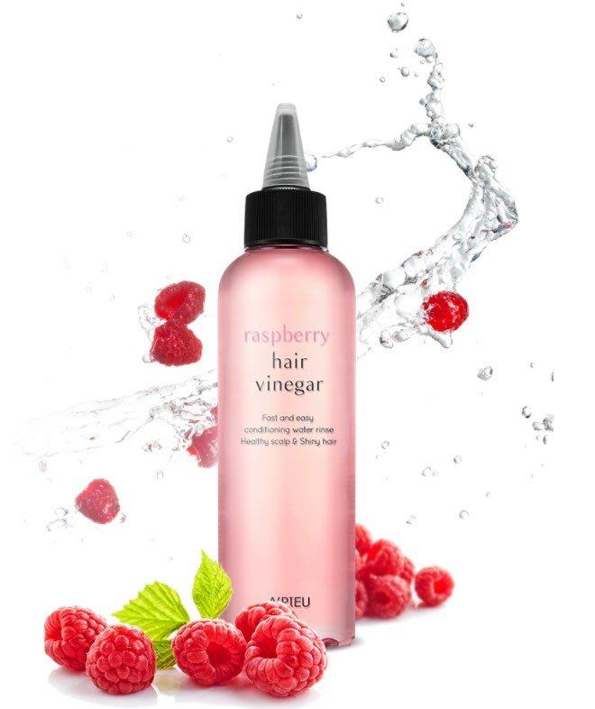 【韓國連線商品】韓國 A'PIEU 覆盆子莓果護髮醋 護髮 需要沖洗 200ml 韓國帶回 朵拉韓國代購