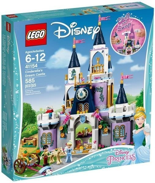 現貨【LEGO 樂高】全新正品 益智玩具 積木 公主系列 | 仙杜瑞拉夢幻城堡 灰姑娘 Cinderella 41154