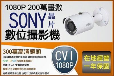 CP值最高 同等最強 大華 alhua 1080P CVI 標準攝影機 本鏡頭需搭配大華原廠主機 或雄邁監控主機支援