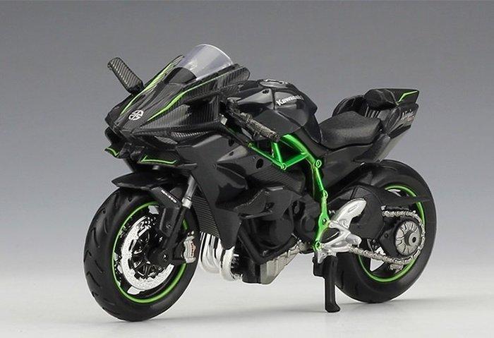阿莎力 1:18 1/18 川崎 Kawasaki Ninja H2R 美馳圖 Maisto 摩托車 重機 H2
