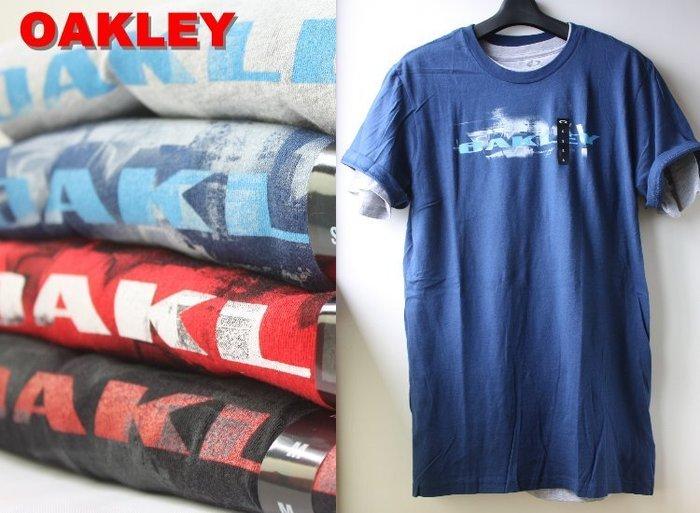 特價【美國知名運動品牌 OAKLEY】100% 全新正品 純棉 運動 短袖 T恤 【S M L】OAKT02