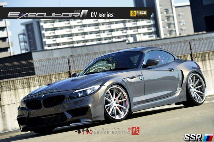 SSR EXECUTOR CV01 精緻鋁圈 BMW/LEXUS/INFINITI/NISSAN 歡迎詢問 / 制動改