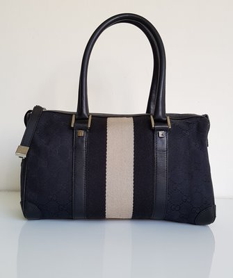 GUCCI  经典款  波士顿包  皮革饰边   时尚精品包   ,保证真品   超级特价便宜卖!