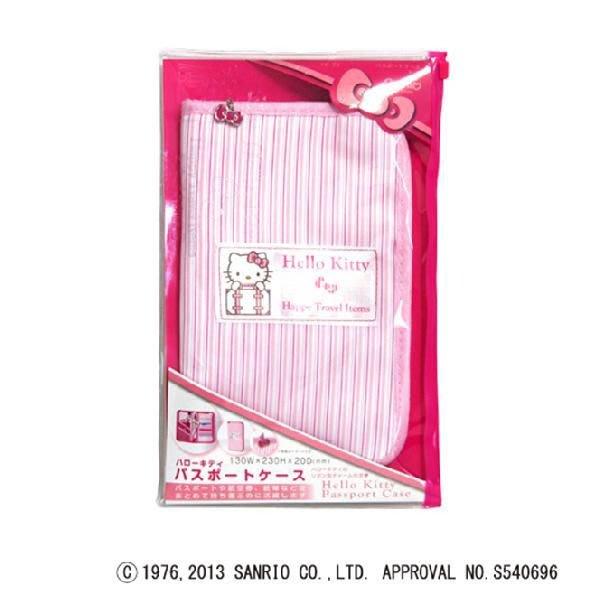 日本 Hello Kitty  旅行 證件 護照 收納 收納包 多夾層 收納本 ☆ P3 01 mo羽小舖 現貨