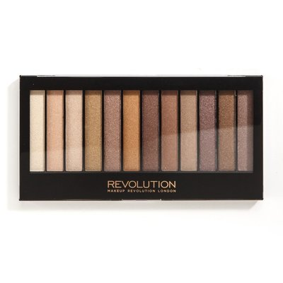【愛來客】英國Makeup Revolution Essential Shimmers眼影盤