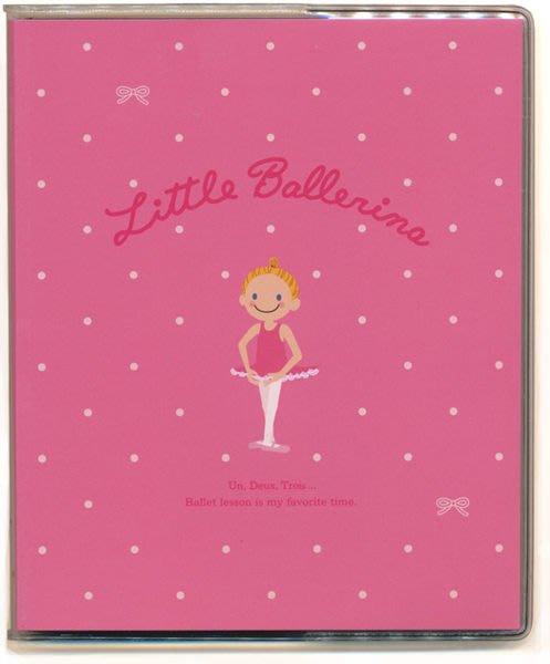 芭蕾小棧生日畢業表演禮物日本進口Little Ballerina可愛文具舞者相簿3x5 30張入小桃白粉